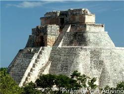 yucatan tour by bus uxmal piramide dell'adivino