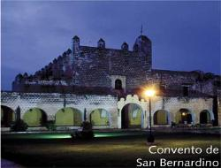 tour yucatan in bus easy mexico convento san bernardino